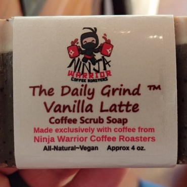 Daily Grind Coffee Soap - Vanilla Latte