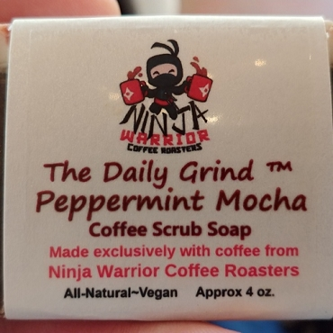 Daily Grind Coffee Soap - Peppermint Mocha