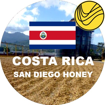 Costa Rica - San Diego Honey
